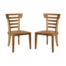TEAK PATIO MORNING CHAIR - Set of 2