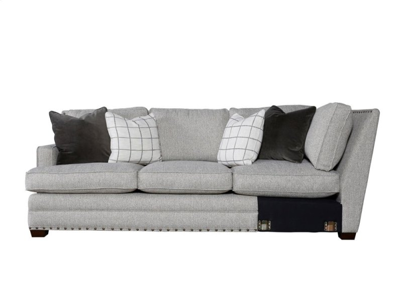 Riley Sectional Right Arm Sofa Left Corner
