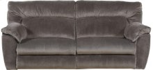 CATNAPPER 61671 Nichols Granite Power Lay-Flat Reclining Sofa