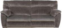 CATNAPPER 61671 Nichols Granite Power Lay-Flat Reclining Sofa