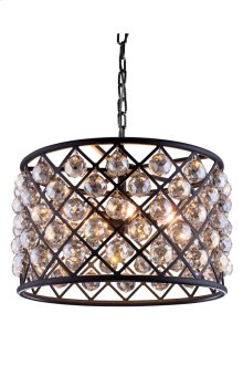 1206 Madison Collection Pendent Lamp Mocha Brown Finish