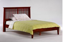 Solstice Bed in Cherry Finish