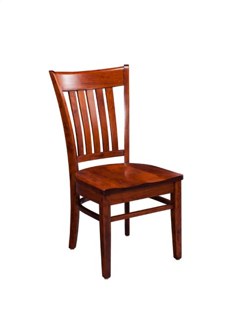 Kaskaskia Side Chair, Leather Cushion Seat