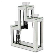 Mirrored Glass Vase- 3 Tier