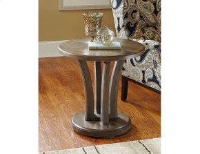Round Lamp Table- Kd