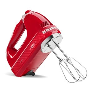 Kitchenaid100 Year Limited Edition Queen of Hearts 7-Speed Hand Mixer - Passion Red