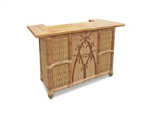 Bar, Available in Natural Finish Only.