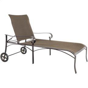 Flex Comfort Chaise Lounge W/wheels