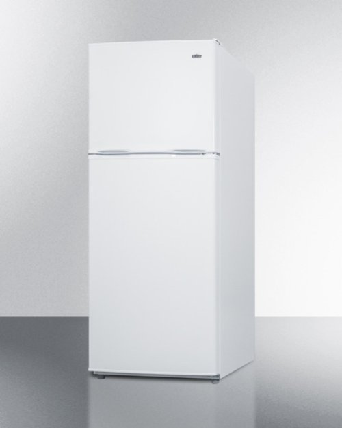 """Energy Star Qualified 24"""" Wide 9.9 CU.FT. Frost-free Refrigerator-freezer In White Finish"""