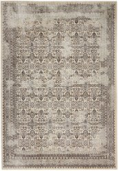 Silver Screen Ki342 Grey Rectangle Rug 5'3'' X 7'3''