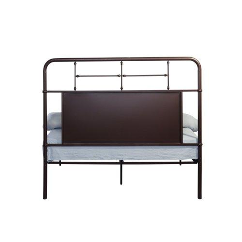 Emerald Home Fairfield Metal Bed Woodland Brown B202-09hbfbrdkbrn