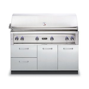 "VIKING54""W. x 30""D. Grill Base - VQBO Outdoor Stainless Steel Cabinets"