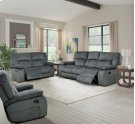Manual Triple Reclining Sofa Product Image