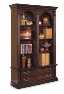 Wellington Double File Bookcase