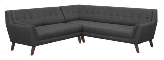 Binetti Sectional Charcoal