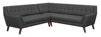2pc Sectional-lsf Sofa-rsf Corner Sofa-charcoal Product Image