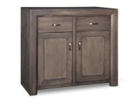 Contempo Sideboard w/2 Wood Doors & 2/Dwrs & 1/Wood Adjust. Product Image
