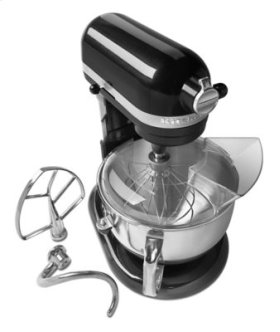 Pro 600 Series 6 Quart Bowl-Lift Stand Mixer - Caviar