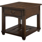 Tacoma Rectangular Drawer End Table Product Image