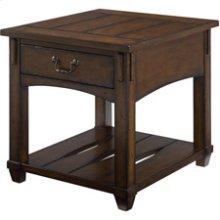 Tacoma Rectangular Drawer End Table