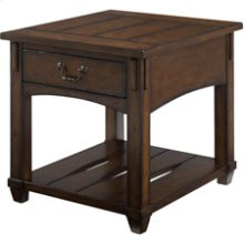 Tacoma Rectangular Drawer End Table