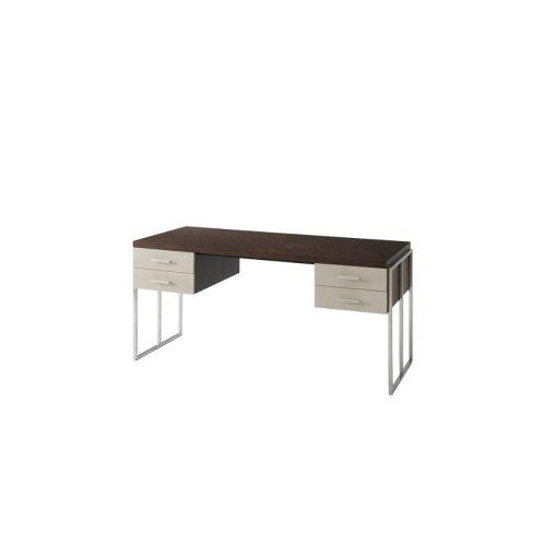 Blain Writing Table - Overcast & Nickel