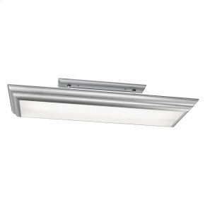 Chella Collection 4 Light Linear Ceiling Mount  Silver Various