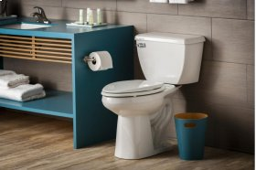 """White Ultra Flush® 1.28 Gpf 12"""" Rough-in Two-piece Elongated Toilet"""