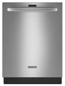 43 dBA Dishwasher with Clean Water Wash System - Stainless Steel