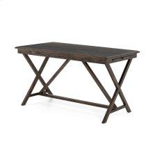 English Brown Oak Finish Palma Desk