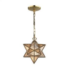 Moravian Star Pendant - Gold