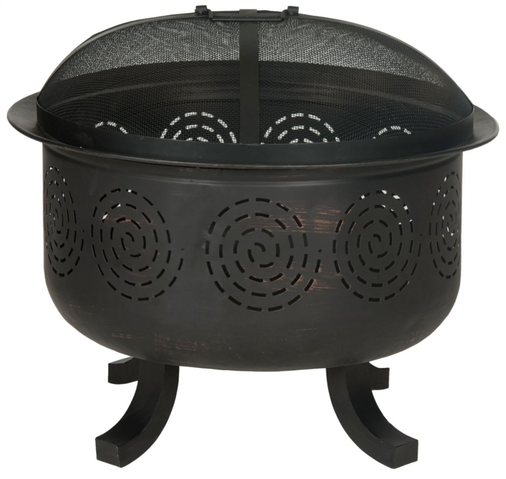 Negril Fire Pit - Copper / Black