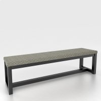 Upholstered seat bench Product Image