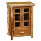 Media Cabinet - Natural Cedar Product Image