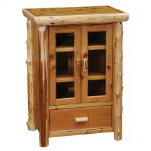 Media Cabinet - Natural Cedar