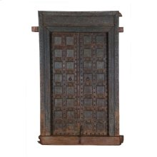 Antique Wood Doors With Frame Ue46
