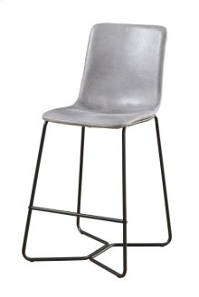 30'' Barstool W/ Upholstered Seat & Back-gray #725-6c