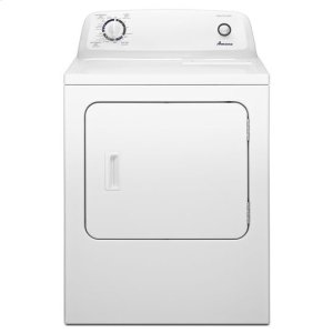 AMANA6.5 cu. ft. Electric Dryer with Automatic Dryness Control - white