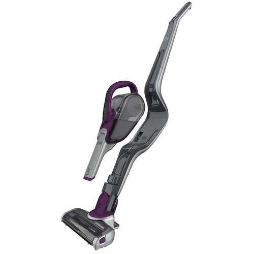 2-IN-1 Cordless Lithium Ion Stick + Hand Vacuum (Eggplant Purple)