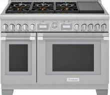 48-Inch Pro Grand Commercial Depth Dual Fuel Range