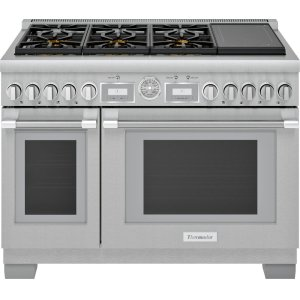 Thermador48-Inch Pro Grand Commercial Depth Dual Fuel Range