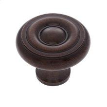 "Old World Bronze 1-1/2"" Georgian Knob"