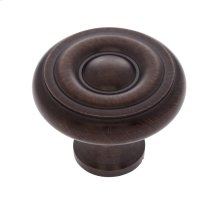 "Old World Bronze 1-1/2"" Georgian Knob"