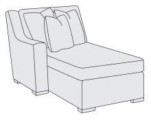 Germain Left Arm Chaise in Mocha (751)