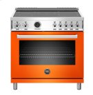 """36"""" Professional Series range - Electric self clean oven - 5 induction zones Product Image"""