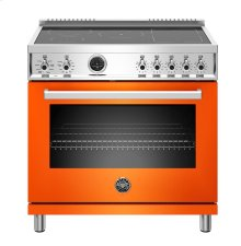 "36"" Professional Series range - Electric self clean oven - 5 induction zones"