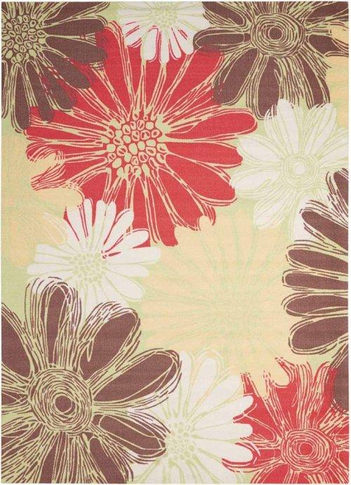 Home & Garden Rs022 Gre Rectangle Rug 5'3'' X 7'5''
