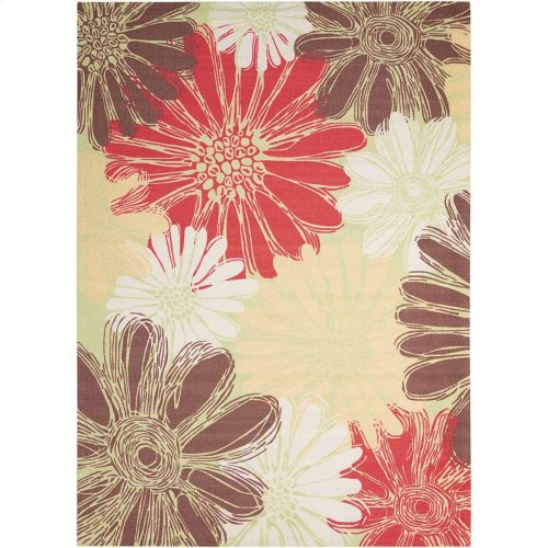 Home & Garden Rs022 Gre Rectangle Rug 5'3'' X 7'5''