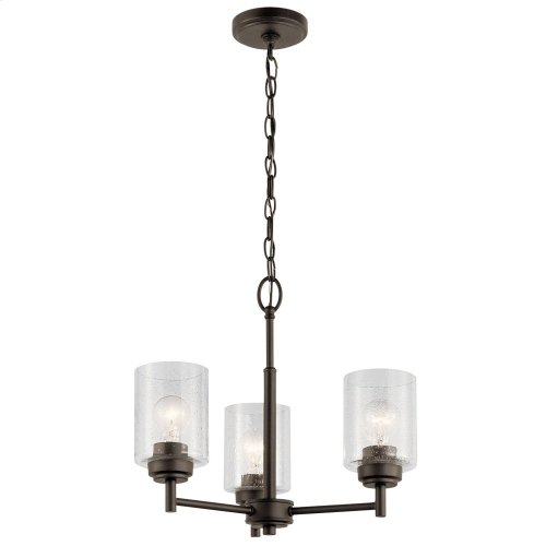 Winslow 3 Light Mini Chandelier Olde Bronze®