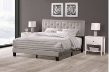 La Croix Bed In One - Queen - Glacier Gray